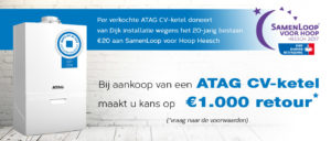 ATAG CV ketel actie